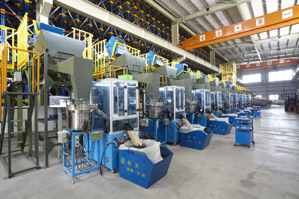 Optical Sorting Line