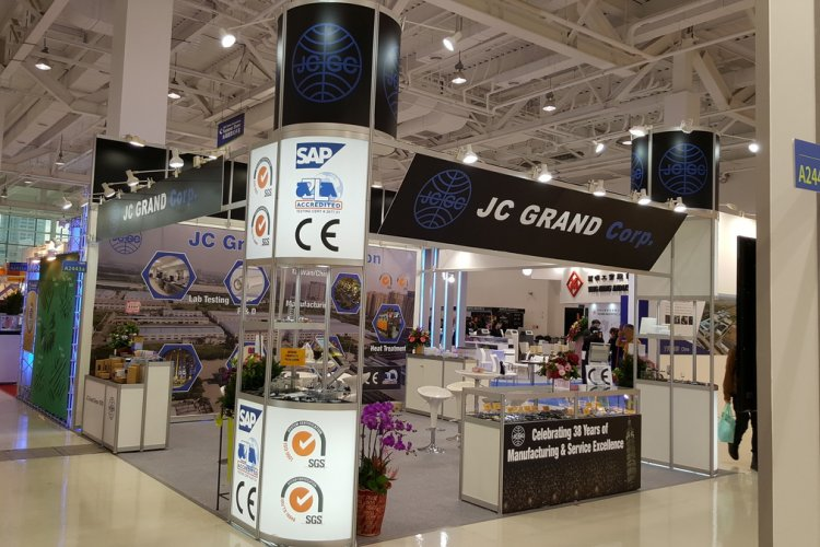 JC Grand Show Booth